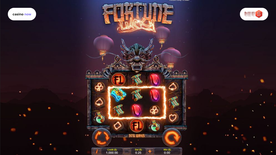 Online slot Fortune Lucky Live 5 Gaming screenshot