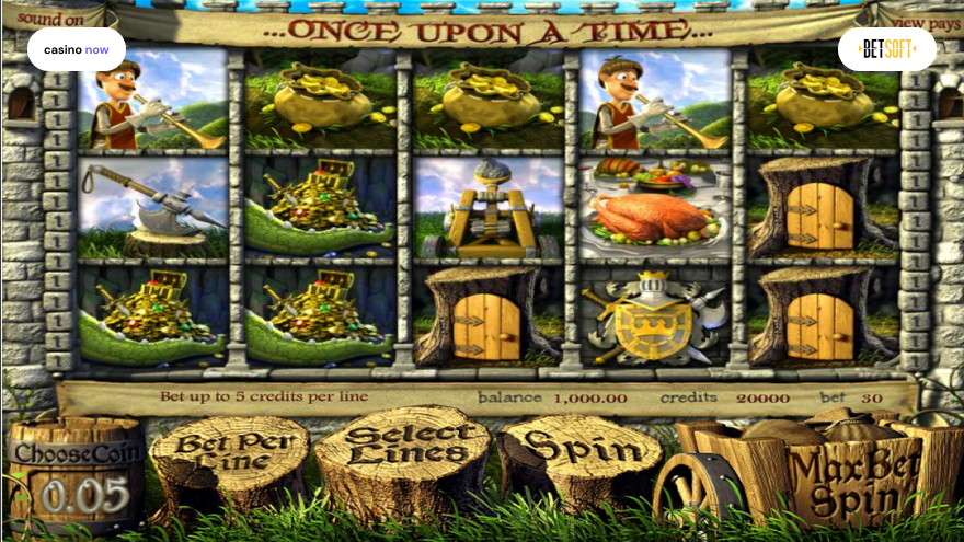 Online slot Once Upon a Time Betsoft screenshot