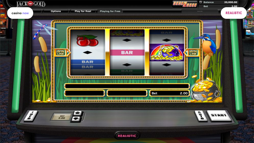 Online slot Over The Rainbow Realistic Games screenshot