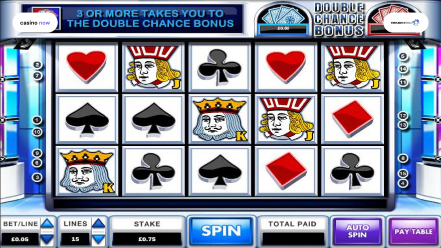 Online slot Play Your Cards Right FremantleMedia screenshot