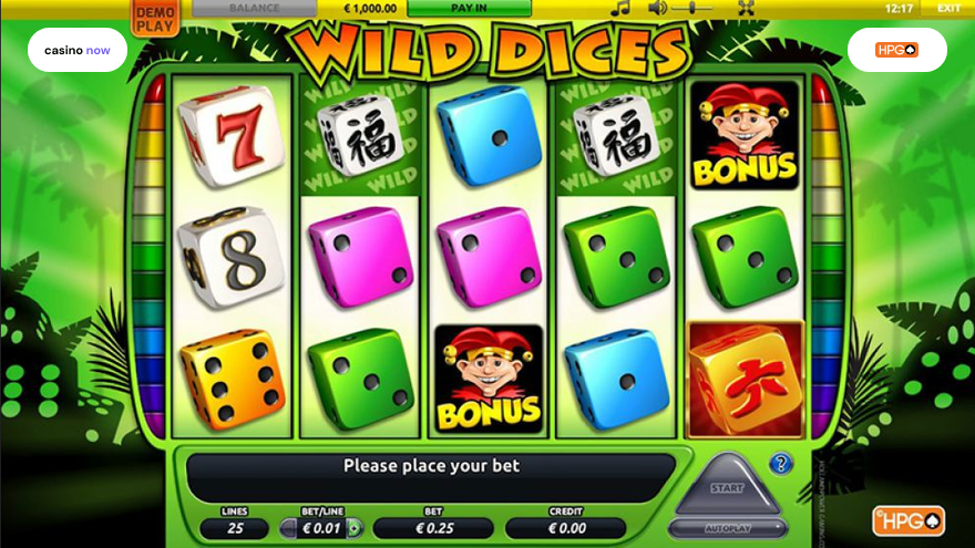 Online slot Wild Dices Holland Power Gaming screenshot