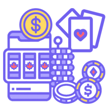 Casinos and coins